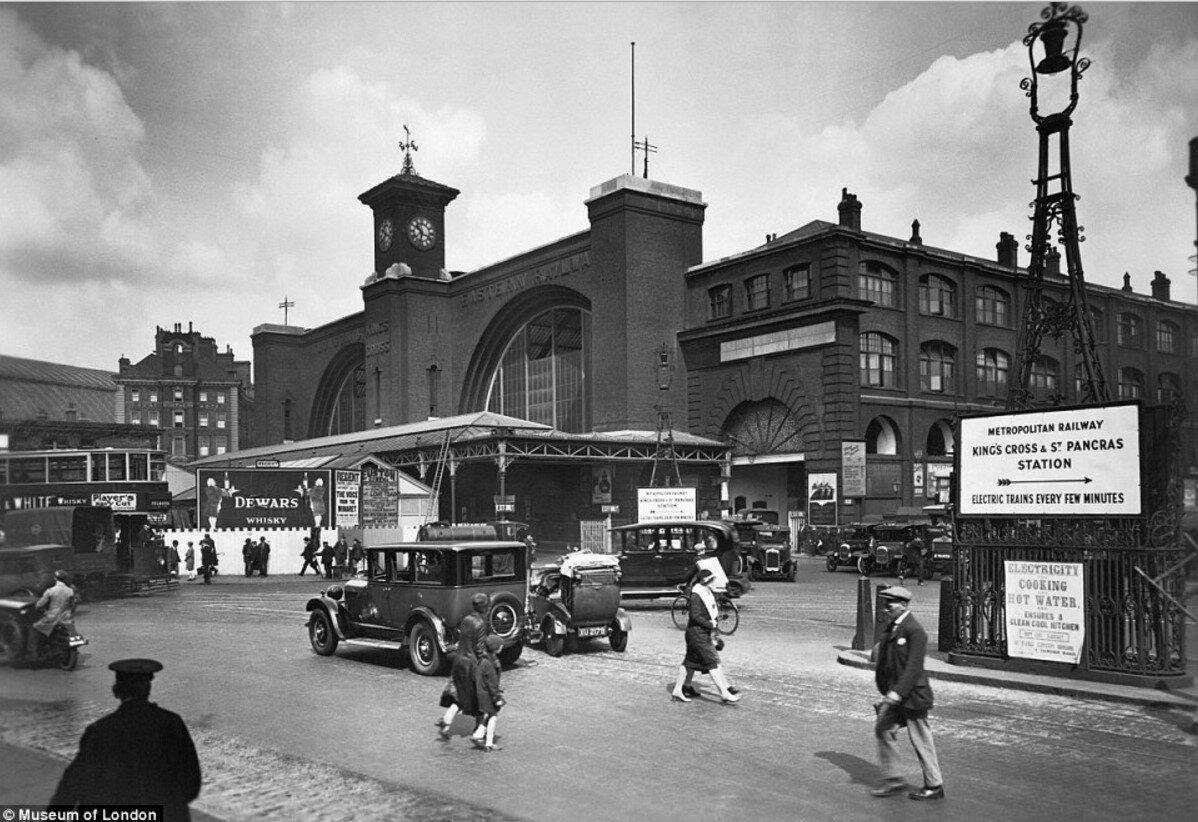 1920-е. Станция «Кингс-Кросс»