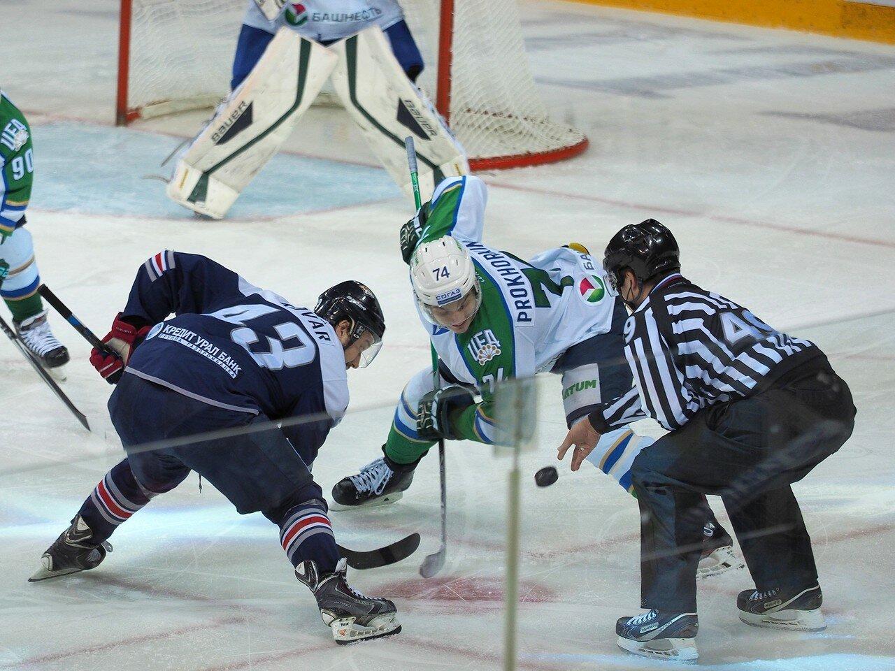 83Плей-офф 2016 Восток Финал Металлург - Салават Юлаев 31.03.2016