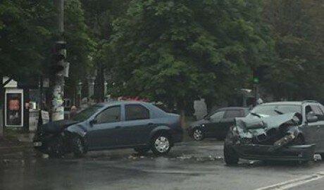 ДТП на Московском проспекте Кишинёва полиция проигнорировала