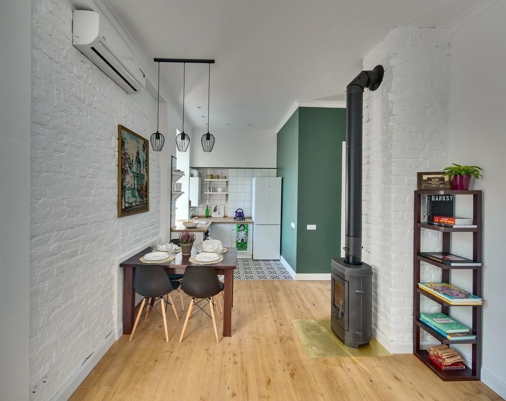 Интерьер квартиры в Киеве, площадью 42 квадратных метра