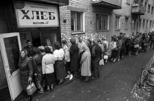 """""""Русские, а вы готовы жрать 300 гр. хлеба в сутки рады величия?"""", - Злой одессит"""