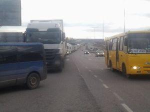 Блокада потоков российских фур через Украину. Буковина