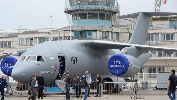 Новейший Ан-178 представлен в Киеве. ВИДЕО
