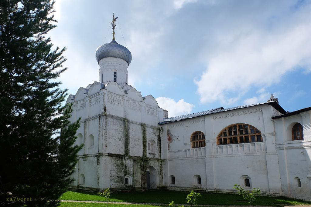 Свято-Прилуцкий монастырь в Вологде