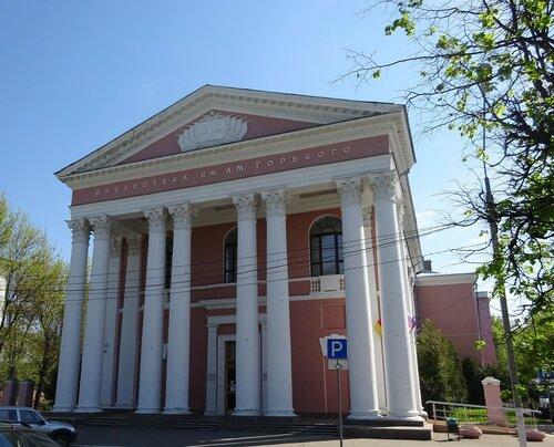 Здание библиотеки, Тверь