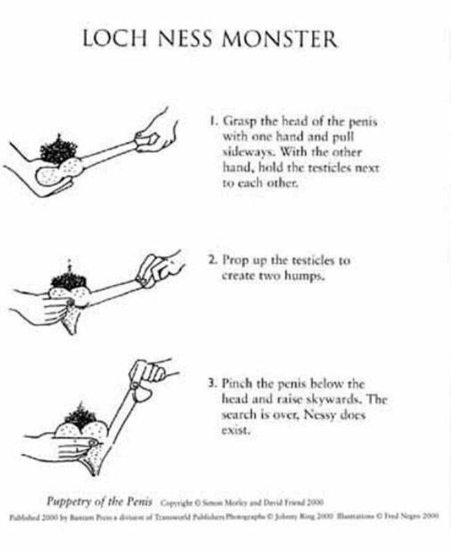 Пенисный театр. Книга с фокусами, которые можно делать с мужским телом