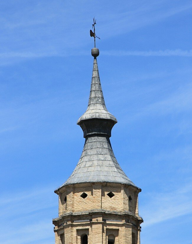 Сарагоса. Церковь Сан-Хуан-де-лос-Пантес (Iglesia de San Juan de los Panetes)