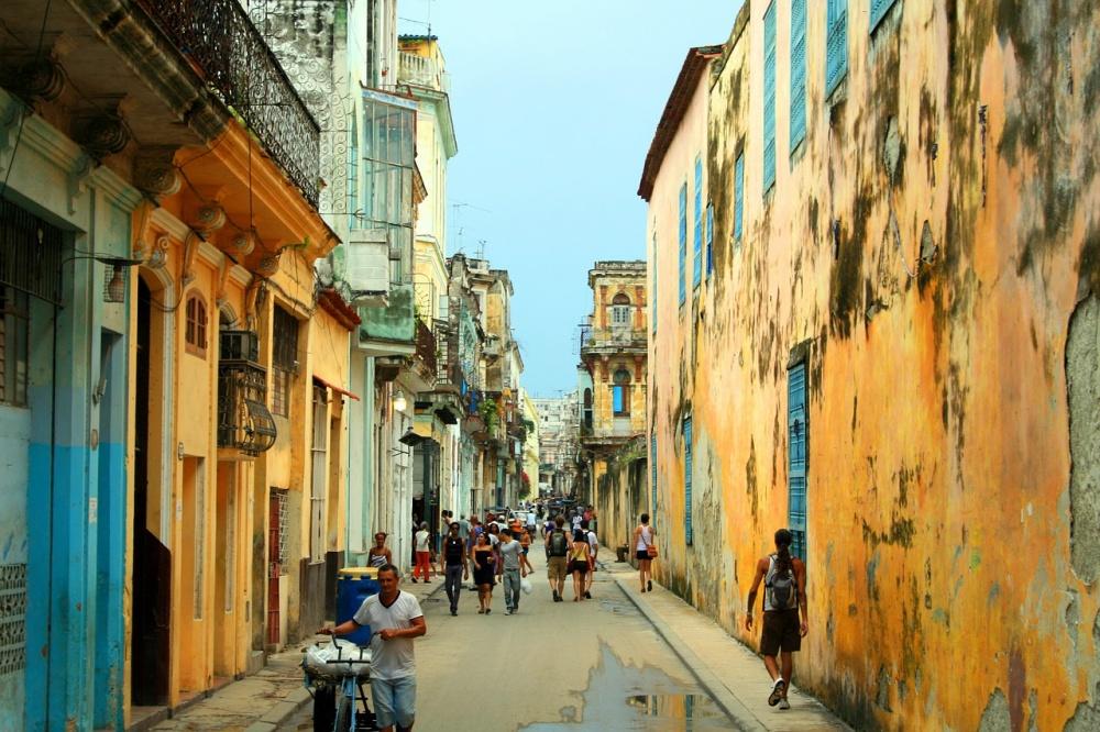 Яркие улочки старой Гаваны.