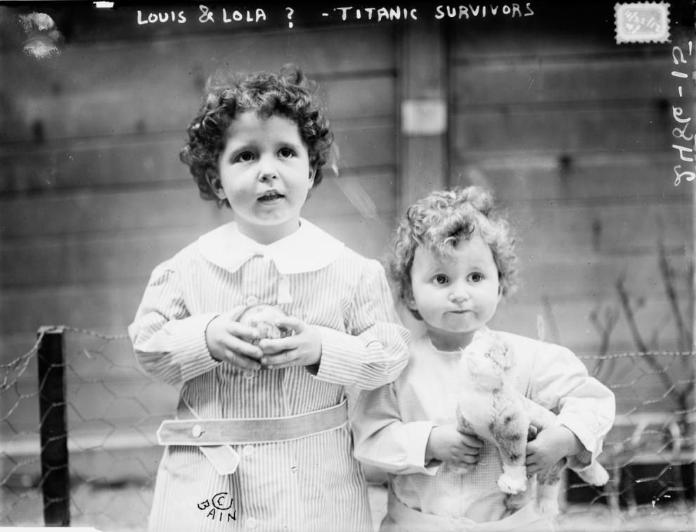 К 104-й годовщине крушения «Титаника»: выжившие пассажиры (9 фото)
