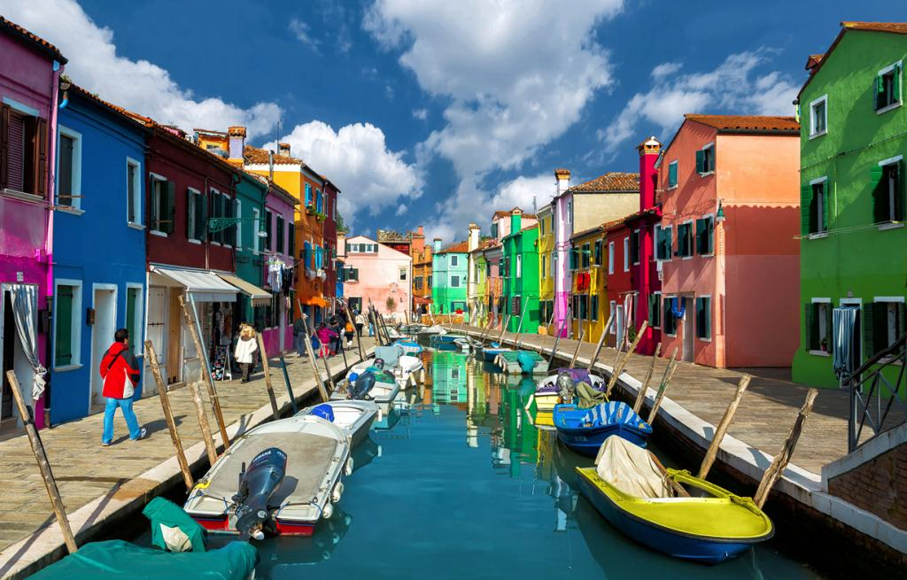 Италия. Венеция. Остров Бурано. (Nick Moulds)