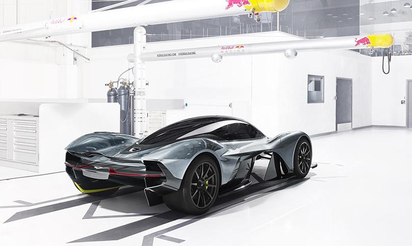 Концепт гиперкара от Aston Martin и Red Bull