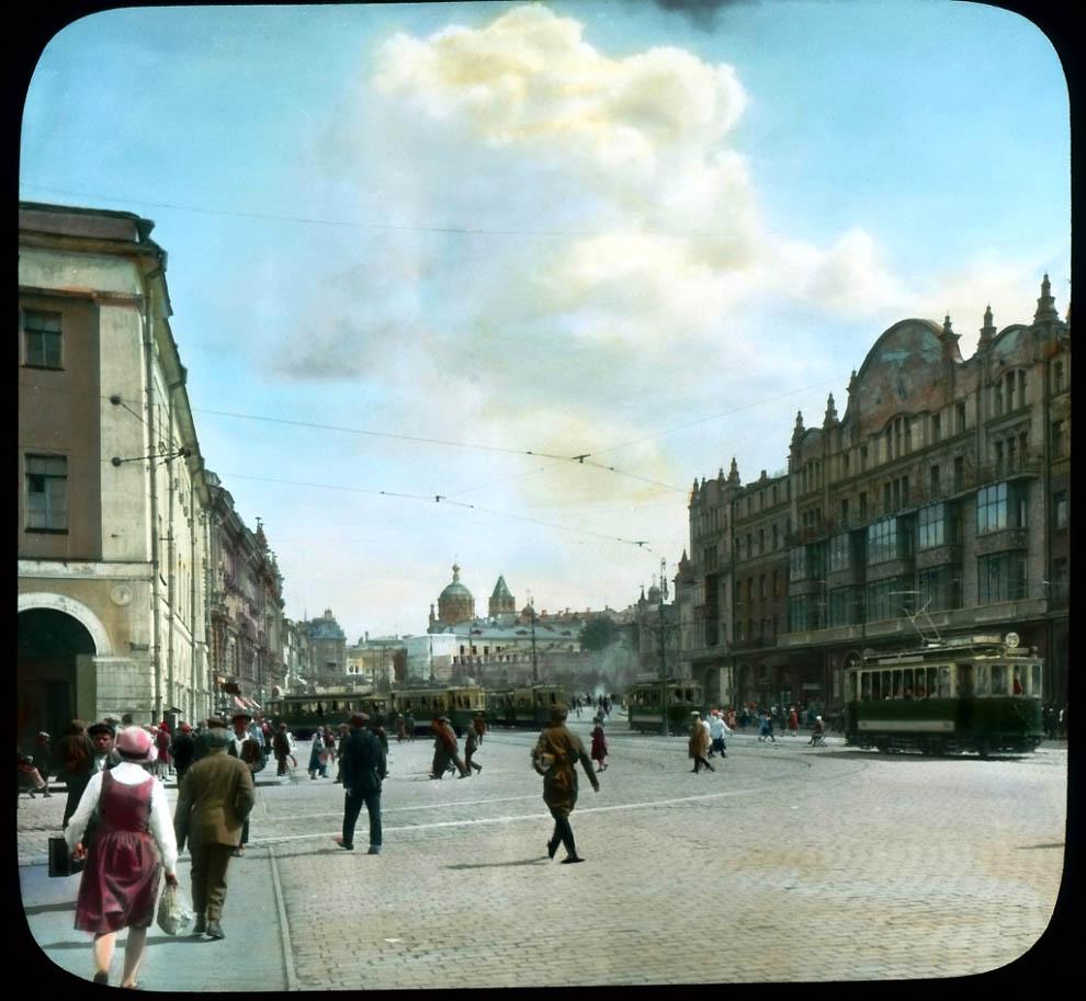 Театральный проезд в сторону Лубянской площади.