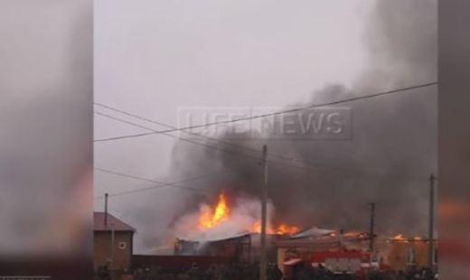 Работники тульской милиции спасли напожаре вПлеханово 15 человек