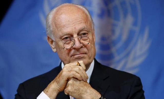 ДеМистура призвал Владимира Путина иОбаму спасти «едва живое» перемирие вСирии