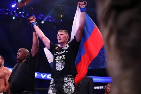 Александр Волков подписан вUFC, дебютирует вбою сТимоти Джонсоном