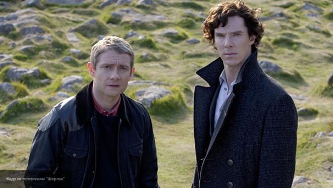 Стало известно название заключительной серии четвертого сезона «Шерлока»