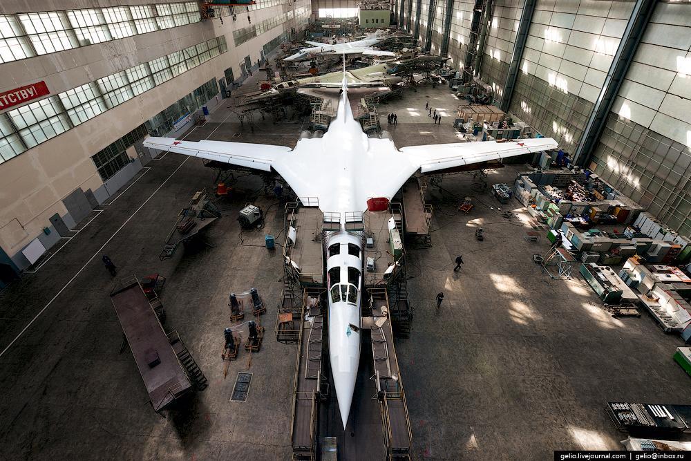 Производство самолётов Ту-160, Ту-22М3 и Ту-214. КАЗ им. Горбунова