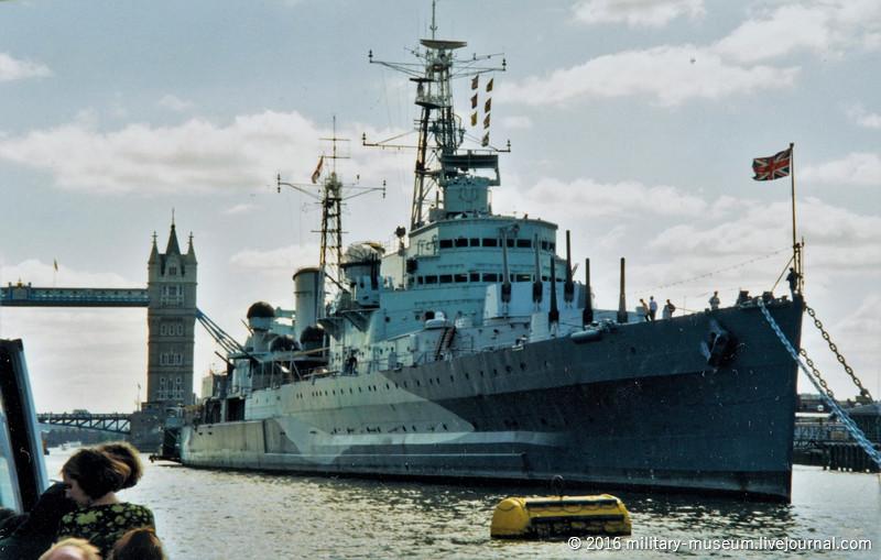 Корабль-музей HMS Belfast