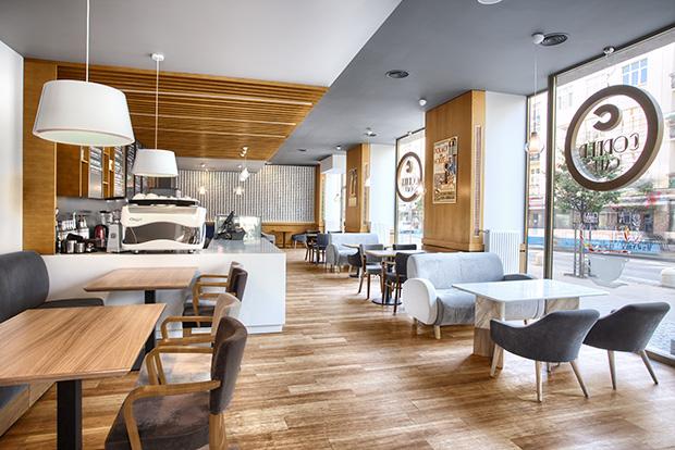 Cafe Corner by Ideograf Paulina Czurak Design Studio (9 pics)