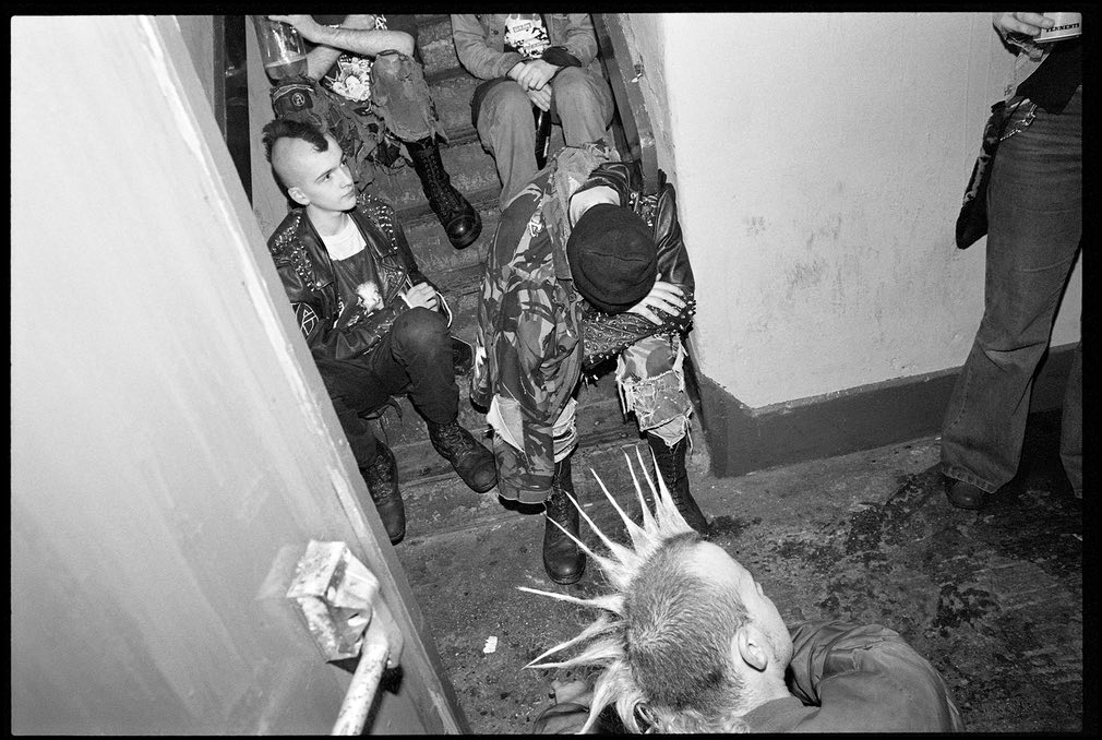 90s Punks of Belfast by Ricky Adam