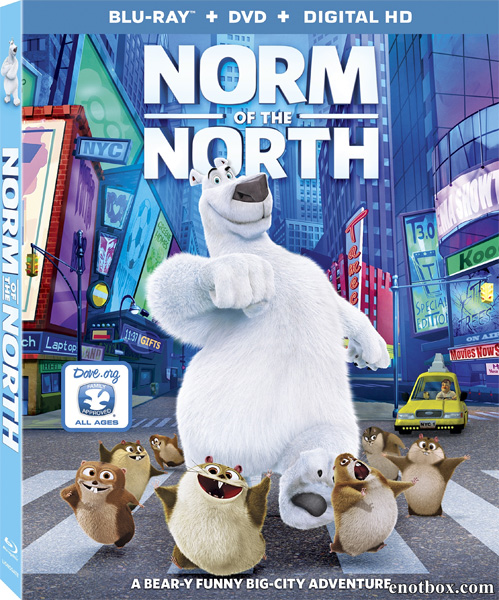 Норм и Несокрушимые / Norm of the North (2016/BDRip/HDRip)