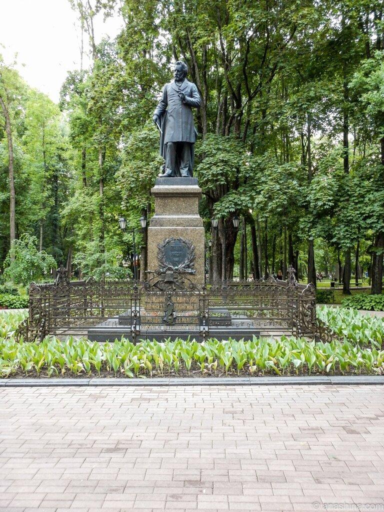 Памятник Глинке, сад Блонье, Смоленск