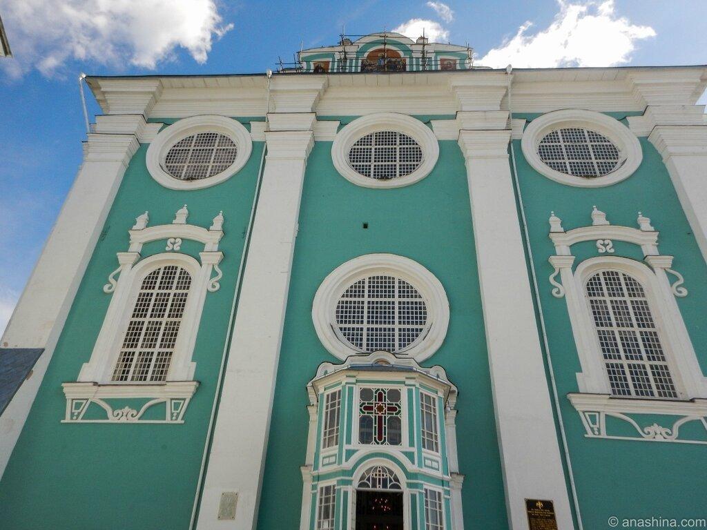 Западный фасад Успенского собора, Успенский собор, Смоленск