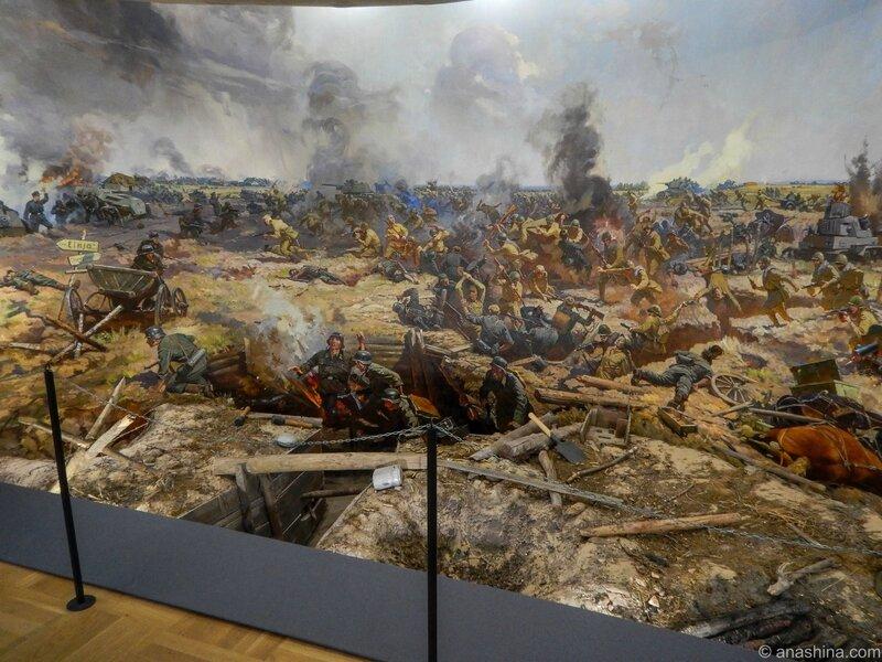 Диорама Смоленской битвы, Смоленск