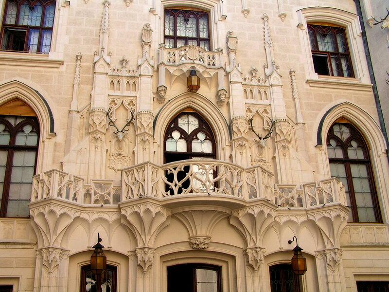 изысканный балкон