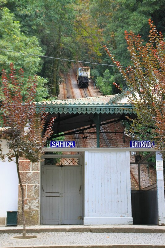 Брага, фуникулер (Braga, the funicular)