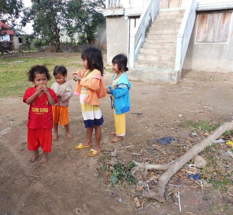 Дети деревни мнонгов