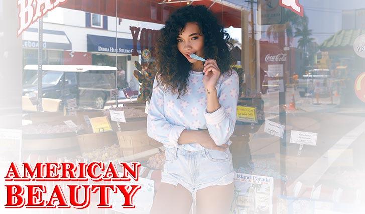 Красота по-американски - Эшли Мур / Ashley Moore by Mark Hunter - American Beauty / wildfox summer 2016