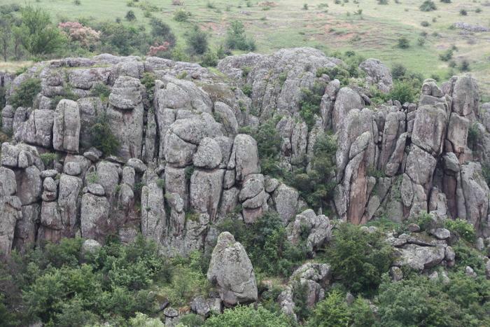 Гранитно-Степное Побужье. Актовский каньон
