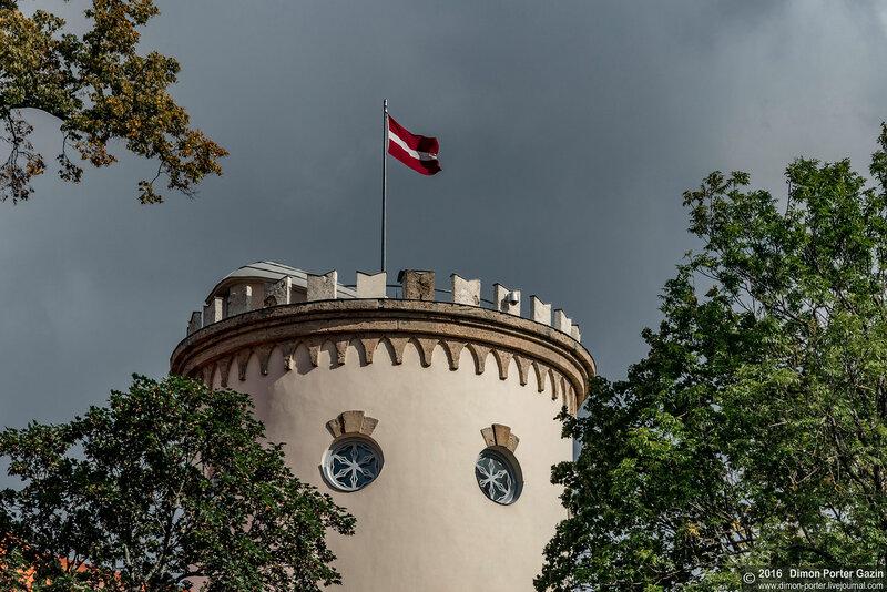 Цесис. Новый замок