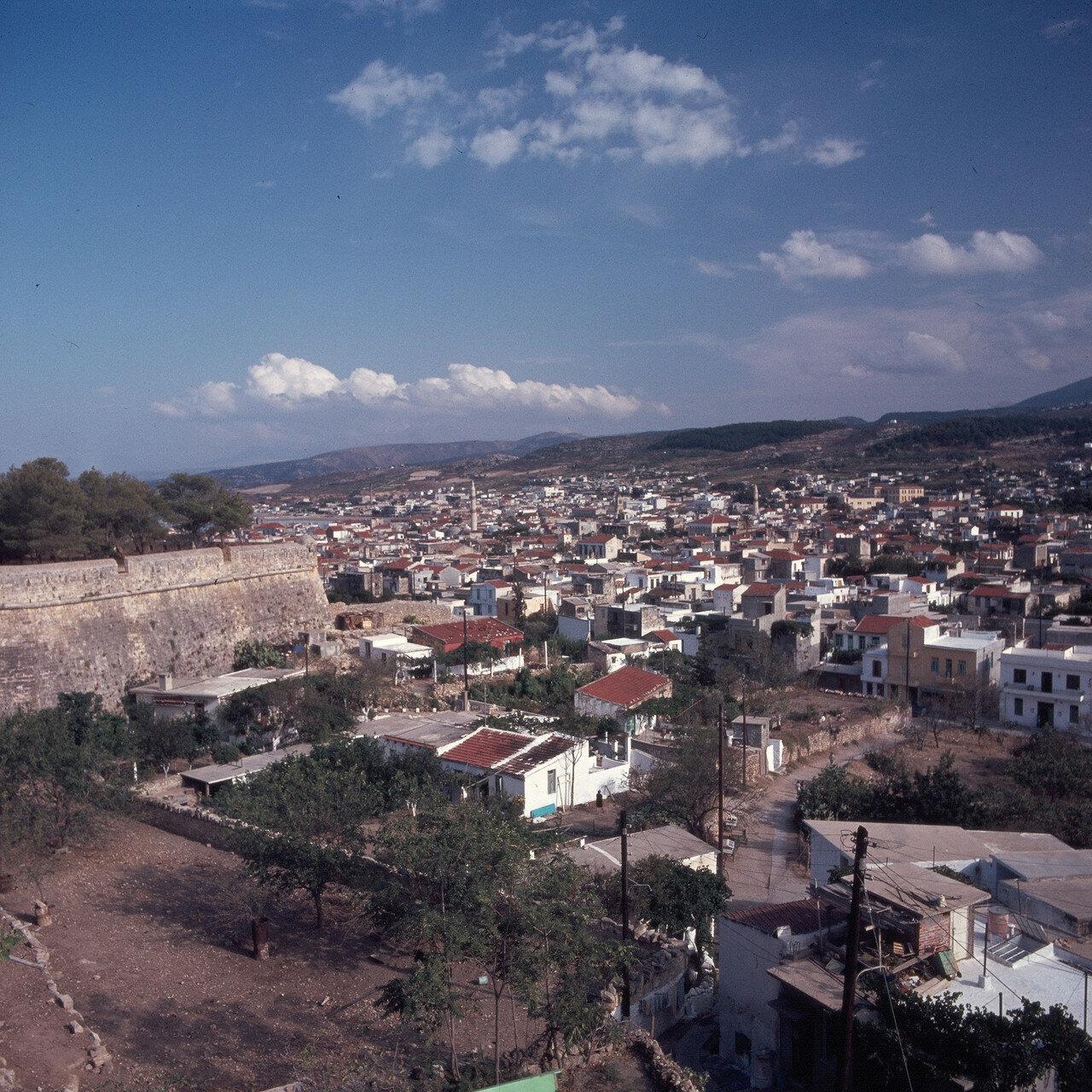 1970. Ретимнон.  Панорамный вид