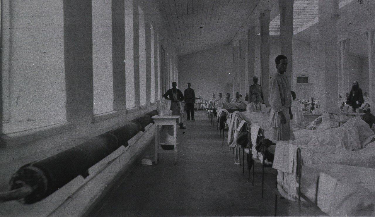 Кауфманский госпиталь Красного Креста №2. Палата