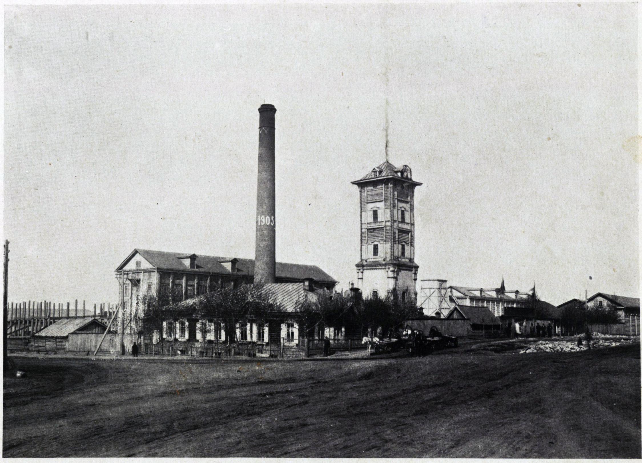 Мельница Алтайской фабрично-промышленной компании