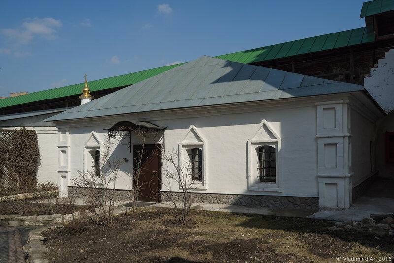 Свечная мастерская (XVII век). Новоспасский монастырь.