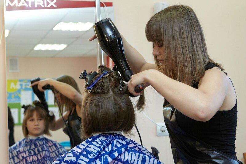 Экзамен по парикмахерскому искусству
