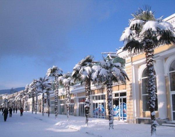 Крым зовет к себе на Новогодние каникулы