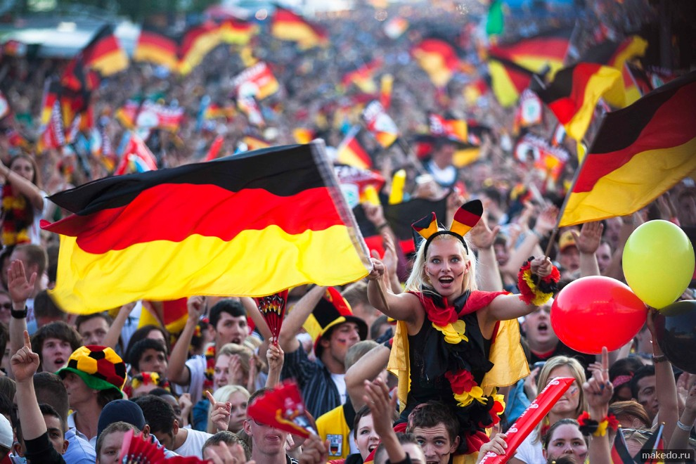 Germany Euro 2012 Reacts