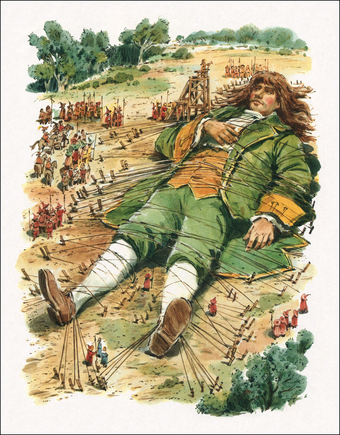 figurative language in gullivers travels