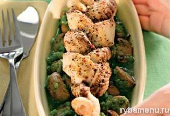 Хек в духовке: пошаговый рецепт с фото, Рыба Меню