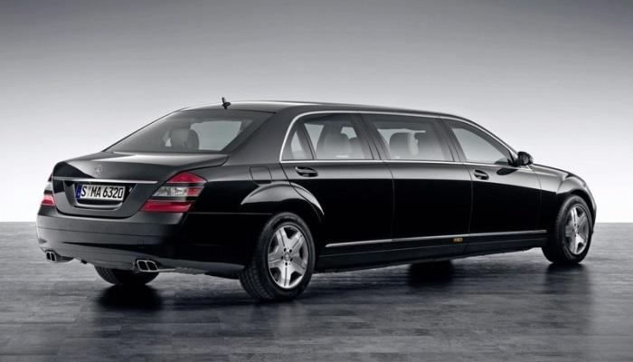 Чтобы не отстать от конкурентов на рынке роскошных бронированных авто, Mercedes Benz выпускает свою