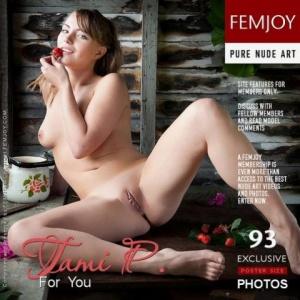 Журнал Журнал Femjoy - 2011-09-12 - Tami P - For You