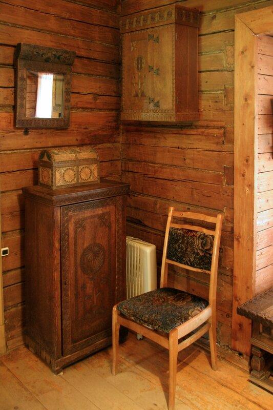 Абрамцево, Баня-теремок, Изделия абрамцевской столярно-резчицкой мастерской