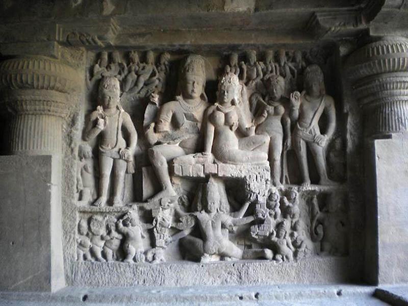 Эллора – пещерные храмы Индии