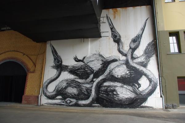 Животный стрит-арт