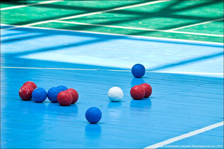 Паралимпийское бочча