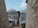 Вид на территорию Софийского собора.